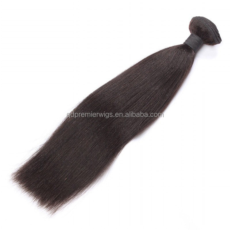 Famous brand Premier straight 100% human hair weave with factory price