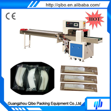 Economical Practical QB-250X Small Disposable Tableware, Cutlery Wrapping Machine
