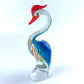 crystal hand blown glass animal figurines