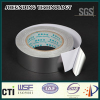 For resealable! 25um High peel adhesion High strength glue SIS-25 Synthetic Rubber Aluminum Foil Tape