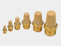 Air Hydraulic Accessories MSL Pneumatic Brass silencer