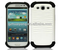 Newest products 2013 wholesale phone cases galaxy s3 i9300 high quality waterproof shockproof pu leather cover case