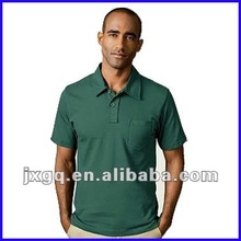 2013 new trend pocket design 100 polyester/cotton men's cheap polo shirts