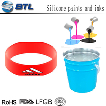 Colorful silicone rubber coating spray for silicone keypads