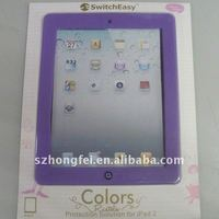 Soft Silicone Protective Case Skin Cover for iPad 2