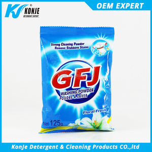 scouring raw material washing powder making formula from konje factory