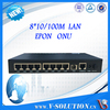 EPON Equipment 8*FE ports,fiber to the home