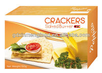 Best Selling!150g Salted Butter Soda Crackers