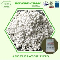 RICHION China Rubber Chemical Supplier CAS NO.137-26-8 Rubber Accelerator TMTD TT