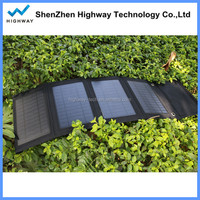 Portable Foldable Solar Power Bank 14w Solar Pack for Smart Phone