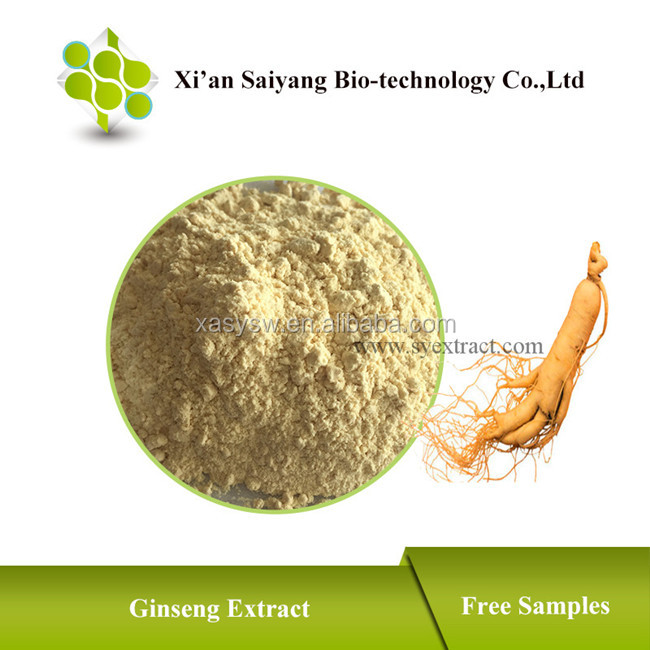 Hot Sell Ginsenosides Panax Ginseng Extract in bulk/ ginseng extracts for hair/100% soluble in water panax ginseng extract