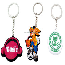 Wholesale customized design 2d soft pvc toy keychains with automatic dispensing