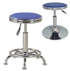 Round shape PU bar lift chair round stool for night club