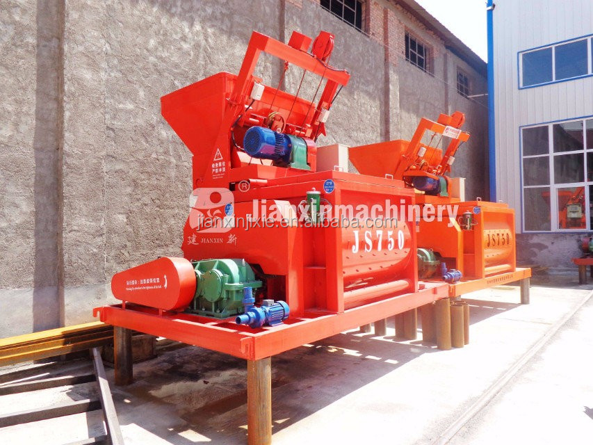 Hot sale in Sri Lanka concrete mixer china concrete mixer 750 liter with 1.1kw water pump