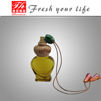Fragrance auto accessories natural essential oil hanging car perfume
