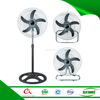 Antique electric stand fan 2 in 1 18'' industrial fan electric fan with ice
