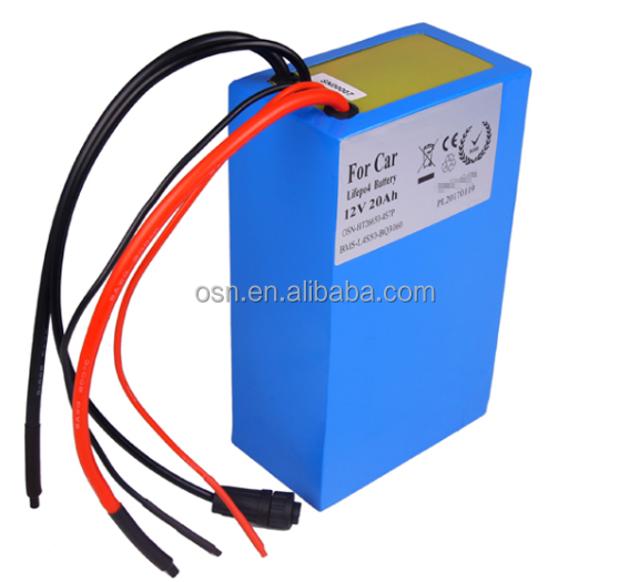 2017 Hot selling!!!26650 lifepo4 12V 20ah rechargeable Battery for Lead Acid Battery Replacement