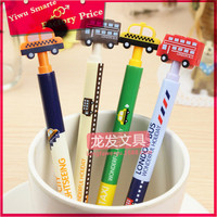 Logo printed personalized advertising stationery office & School Supplies disposable funny car style ballpoint pen