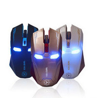 New Iron Man Mouse Wireless Mouse