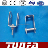 D Iron Pole Line Hardware D