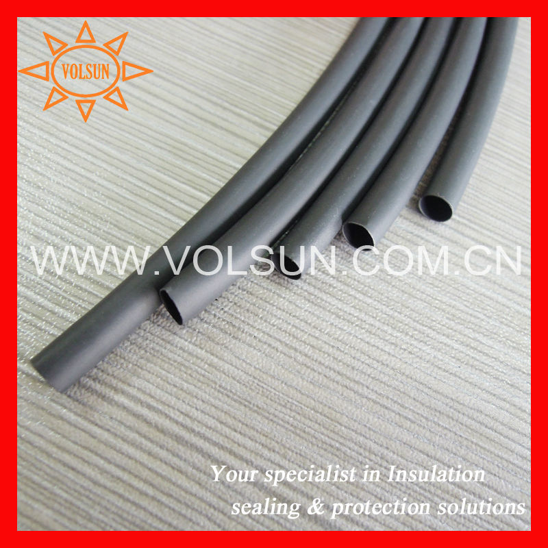 Thermal insulation heat shrink tubes for capacitor