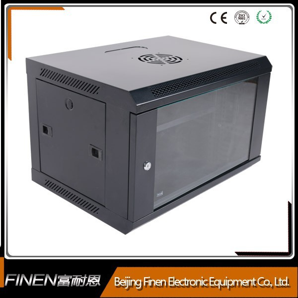 19 inch wall mount telecom metal box with locks and doors