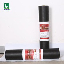 Widely used black asphalt waterproof sheet roofing paper material for walls with good quality