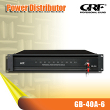 GRF DSP Speaker Processor PRO Audio Equipment, 6 Channel Digital Power Sequencer (G-40A-6)