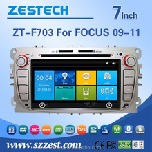 PROFESSIONAL car video player for Ford FOCUS 2009 2010 2011 in dash car dvd player