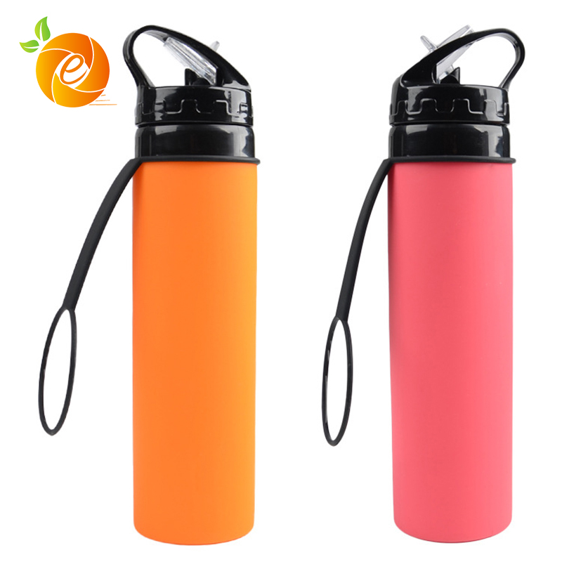 Cheapest Wholesale Foldable Silicone Bottles 2018 New Design