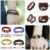 2017 Engraved String Handmade Power Fashion Silver Jewelry Set Leather Rope Hope Anchors Beads Custom Logo Bracelet for Men