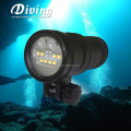 New arrival UV9 Portable Diving Photo & Video Light Magnetic Ring Switch Video Film Equipment Rechargeable Diving Light