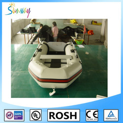 SUNWAY Heavy Duty Military Large Inflatable Boat, Rescue Boat