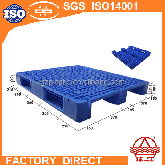 heavy duty virgin / recycled hdpe / pp large plastic pallet