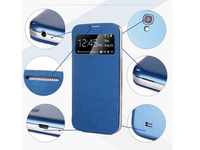 Top Quality View Window Flip Leather PU Case For Samsung Galaxy S4 SIV I9500