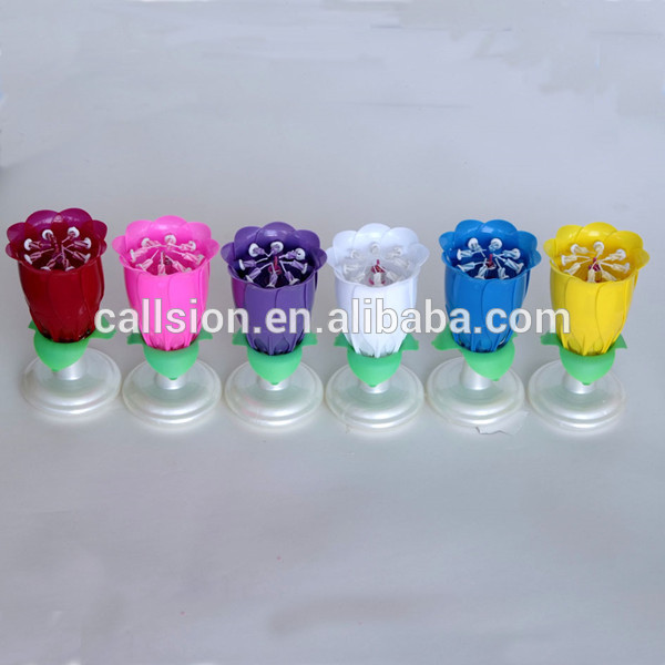 Refined Production Multi Colour Sparkler Candle Firecrackers Happy Birthday Cake Candles For Sale