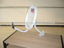 ku band 45cm solid dish antenna