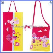 nicely custom cotton beach towel bag set/beach towel tote bag