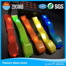 Flashing LED radio controlled led wristband for event festival