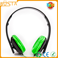 foldable fashion young headphone with stereo sound /change color headphone