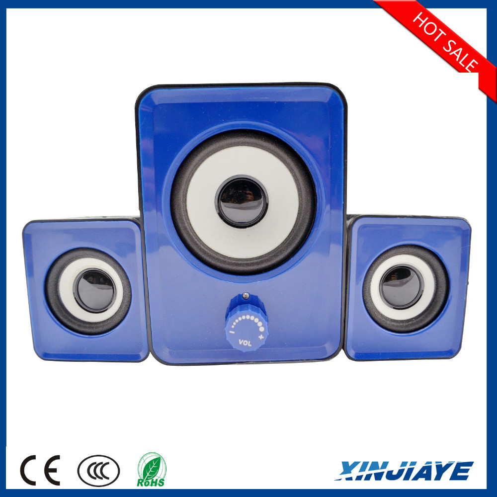 Home theater music system 2.1 multimedia speaker system
