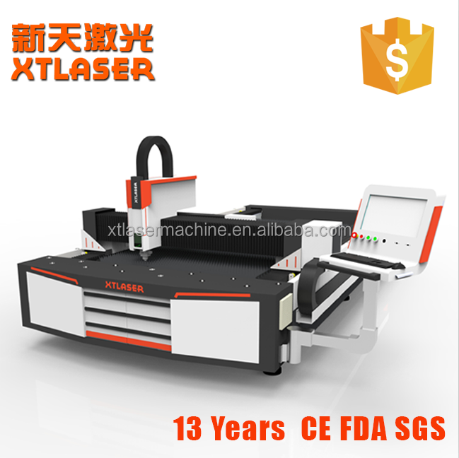 Xtlaser 750w fiber laser cutting mahcine for stainless steel and carbon steel