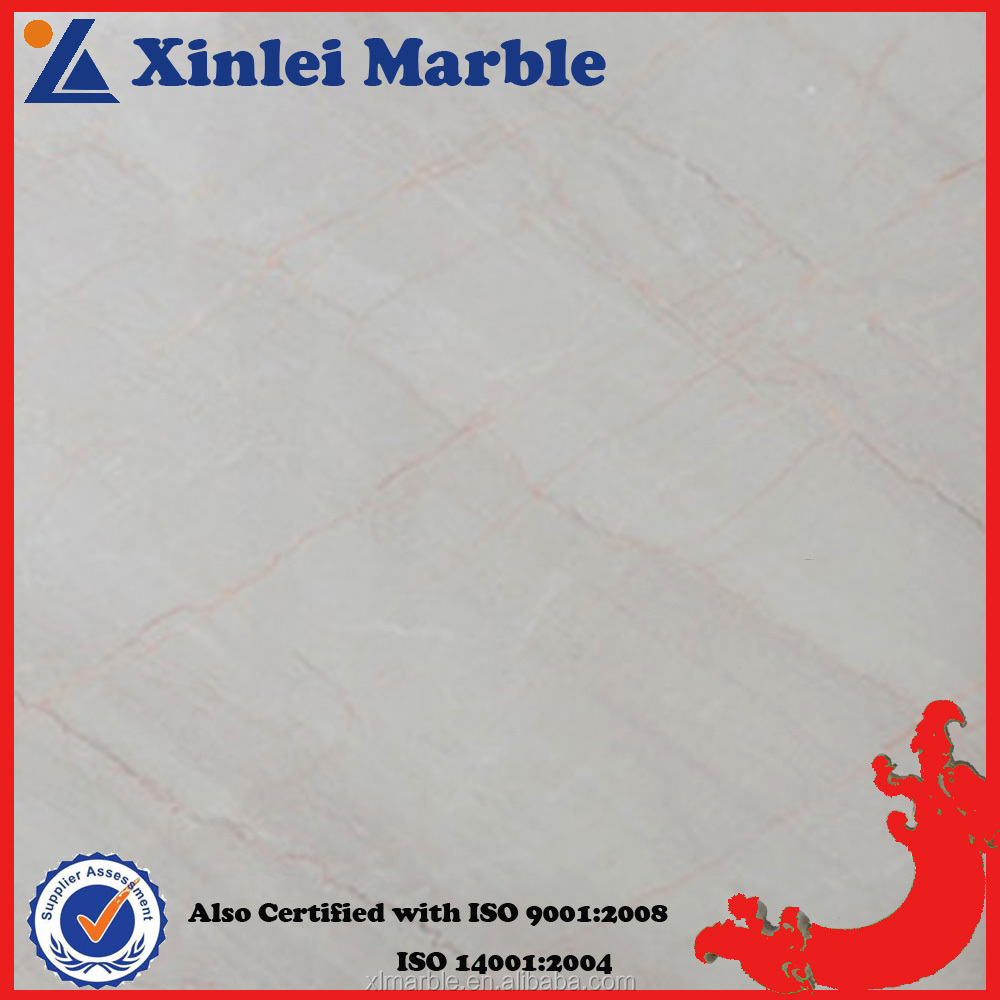 Chinese Cheap Countertop California Beige With White Shade Marble