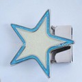 30 MM R-62740-2B Hot sale customized buckles star shap fashion belt buckle ladies with high quality