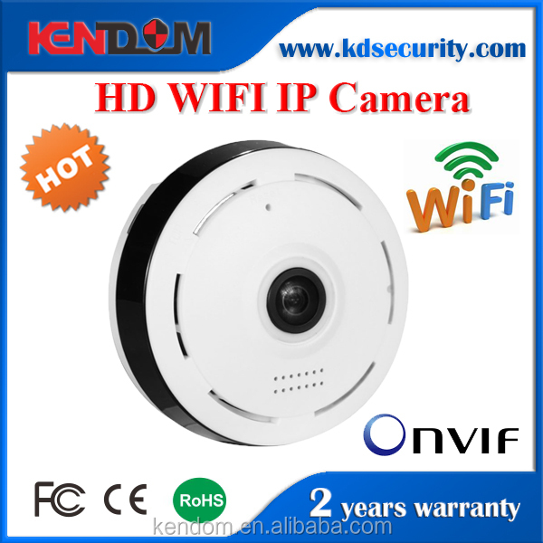 Kendom Mini WIFI 1.3MP Plug and Play IP Camera Two Way Audio Home HD Wireless Security Network