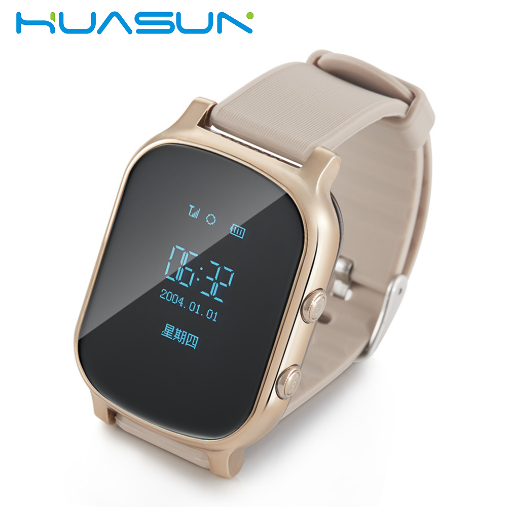 2018 New WiFi Wrist GPS Watch kids Personal GPS Trackers Smart Watch Phone for Adults GSM Kids GPS Watch Tracker