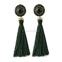 Morocco Bohemian Tassel Earrings Statement Earrings