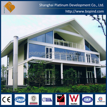 Prefabricated Steel House Building