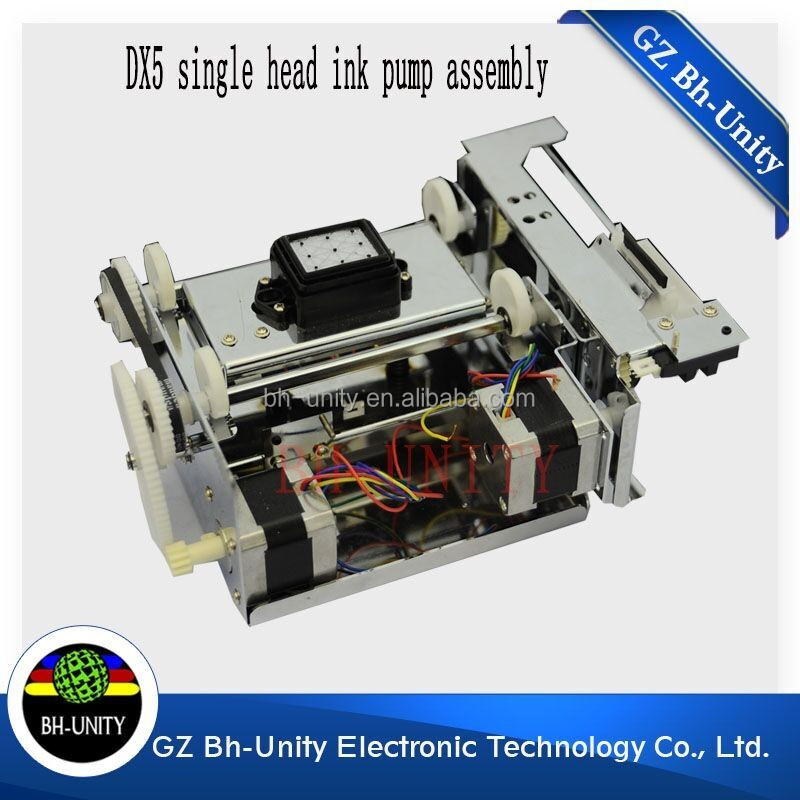 Top quality! DX5 print head system ink cleaning assembly ink pump capping station for inkjet printer spare part