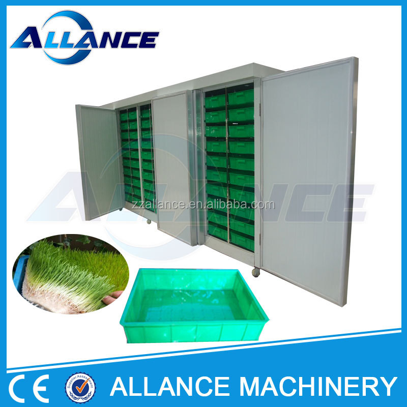 New type parsley germinate machine price / cattle feed making machine for hot sale